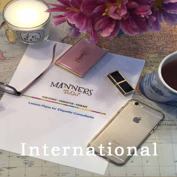 Click to learn about MTG International Manners Certification