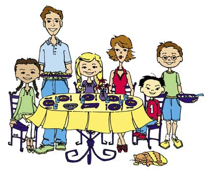 How to teach children table manners