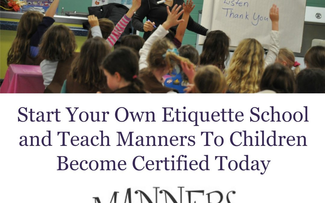 Schools Need You to Teach Manners