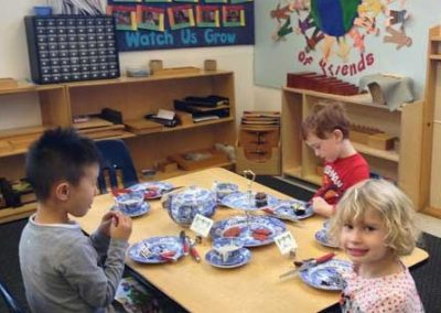 Preschool tea party