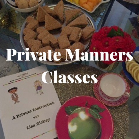 Private Manners Classes