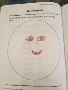 Self respect worksheet
