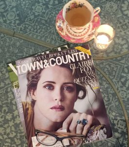 British Etiquette Claire Foy Town and Country
