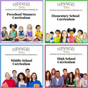 MTG Manners curriculum English