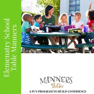 Elementary School Curriculum for Table Manners