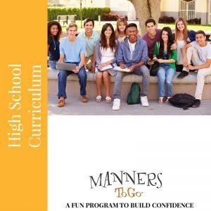 High School Manners curriculum