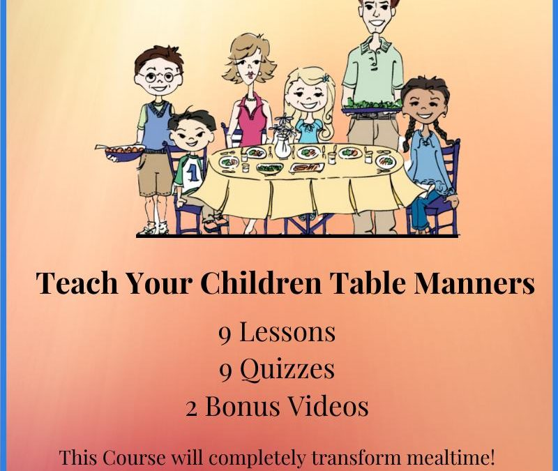Why Setting the Table Is an Important Life Skill for Children to Learn