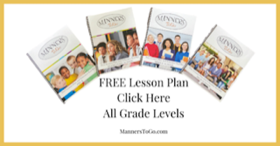 Free Manners Lesson Plan for Teachers