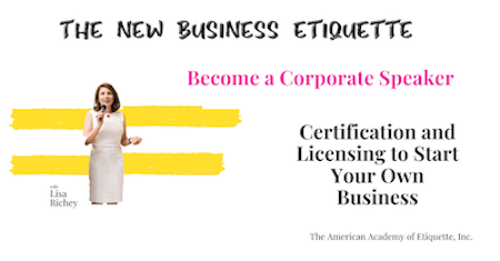 Business Etiquette Certification