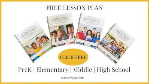 Manners Free Lesson Plan