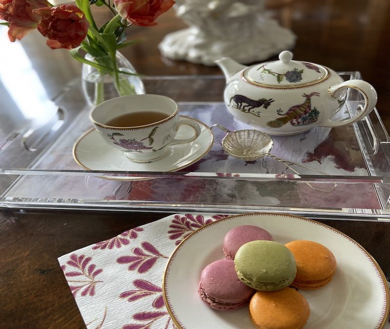Free Virtual Afternoon Tea Instruction
