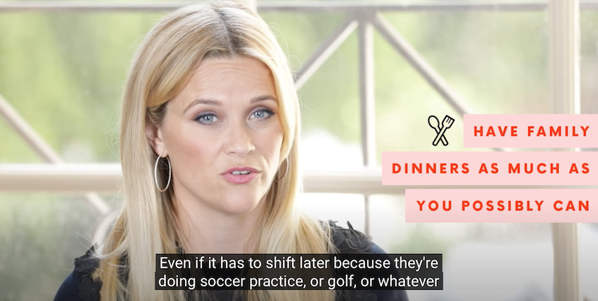Table Manners Reese Witherspoon